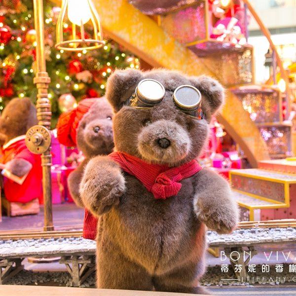 置地廣場耶誕小熊IMG_0485